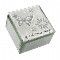 Wings Of Love Butterfly Ring Box